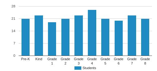 Escuela De Guadalupe Student By Grade