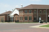 Just to the left of Sage Hall is the Stevens Center.  This main floor of this building houses the