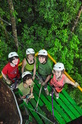 The 8th Grade International Trip gives students the opportunity to live in and contribute to a community abroad. Here the students explore the rainforest on a zip line adventure when in Costa Rica.