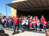 Jubilate Choir singing at the VFW Veterans' Rememberance Day on Sept. 11th.