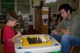 An extended activity of our full-day kindergarten program is learning to play chess
