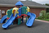 We have a wonderful playground, complete with a child-tended garden.