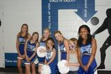 Cheerleaders at Pride Night
