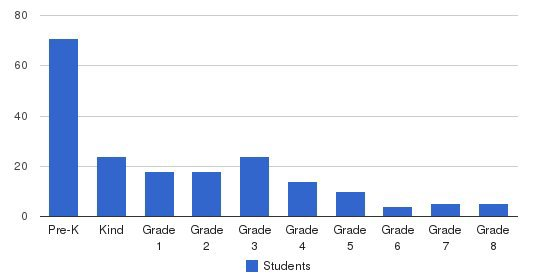 Mcdowell Private School Students by Grade