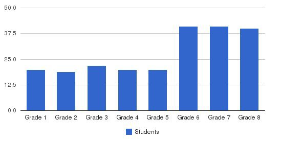 Mater Dei School Students by Grade
