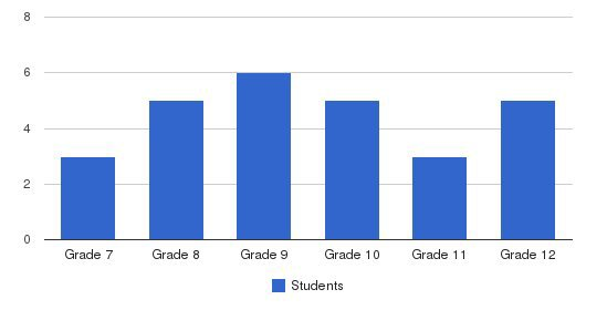 Wayside Academy Students by Grade