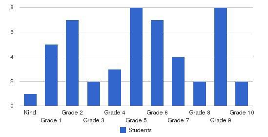 Metropolitan Junior Academy Students by Grade