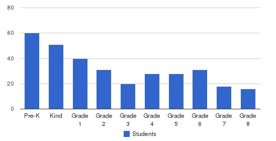 Muslim American Youth Academy Students by Grade
