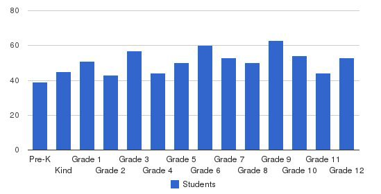 Lee-scott Academy Students by Grade