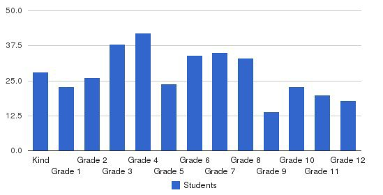 Schaeffer Academy Students by Grade
