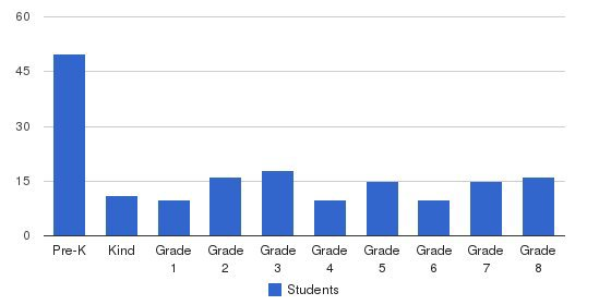 St Jude Thaddeus School Students by Grade