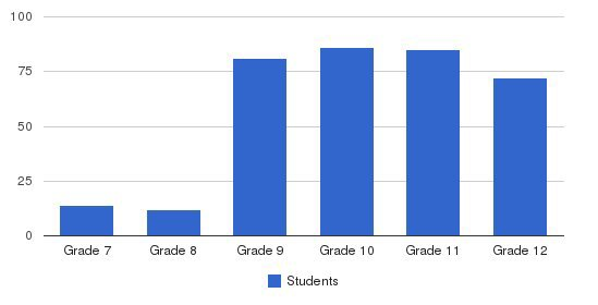 Bruriah High School For Girls Students by Grade