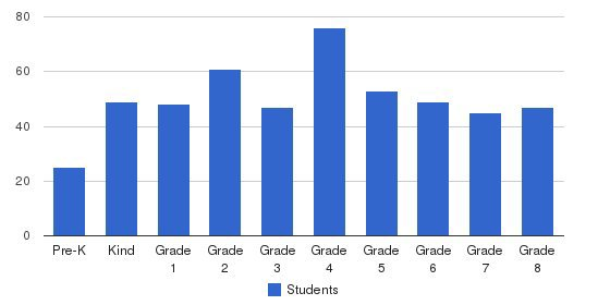 Our Lady Of Mercy School Students by Grade