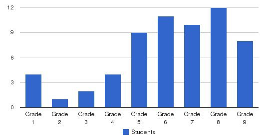 Windsor Academy Students by Grade