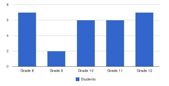 Crittenton High School Students by Grade