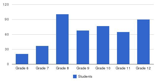 La Salle Institute Students by Grade