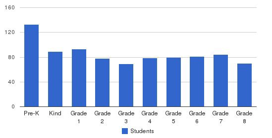 Sar Academy Students by Grade