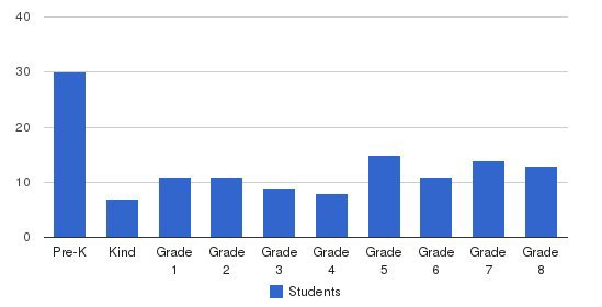St Mary S Academy Students by Grade