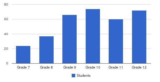 The Stony Brook School Students by Grade