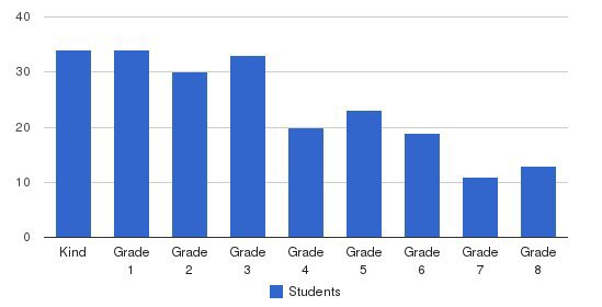 Carmel Academy Students by Grade