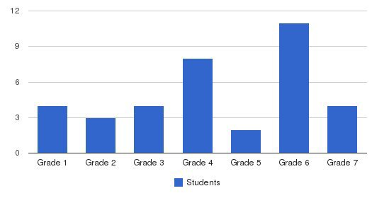 Alexander Youth Network Students by Grade