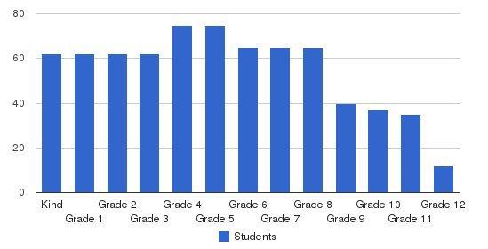 Carmel Christian School Students by Grade