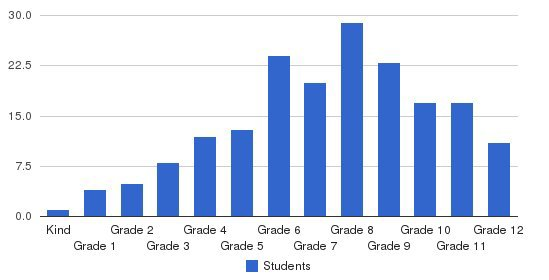 Noble Academy Students by Grade