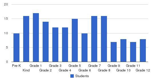 Brighton Academy Students by Grade