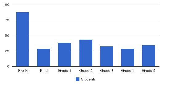 Salem Academy Elementary School Students by Grade