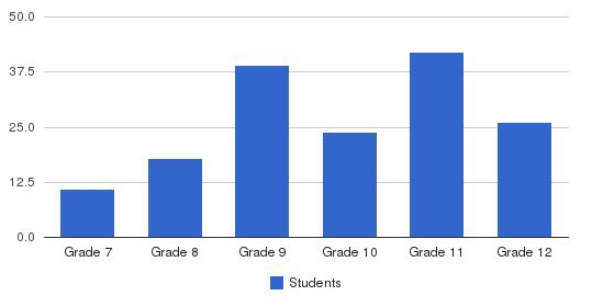 Masters Regional Academy Students by Grade