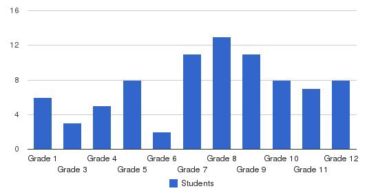 Bowman Academy Students by Grade