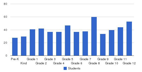 Robert E Lee Academy Students by Grade
