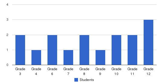 Sumter Academy Students by Grade