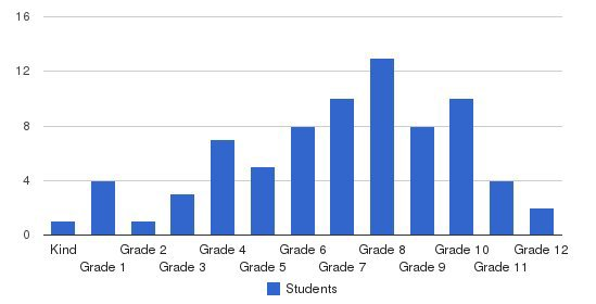 Kingston Academy Students by Grade