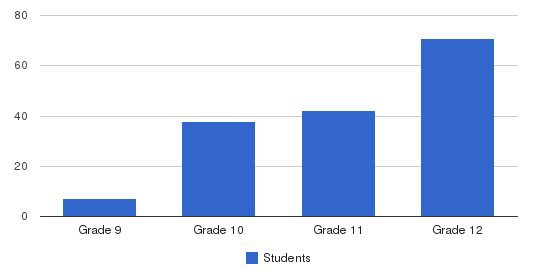 Cassata High School Students by Grade