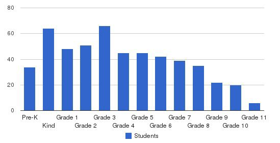 Christian Academy Of San Antonio Students by Grade