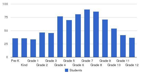 Shelton School Students by Grade