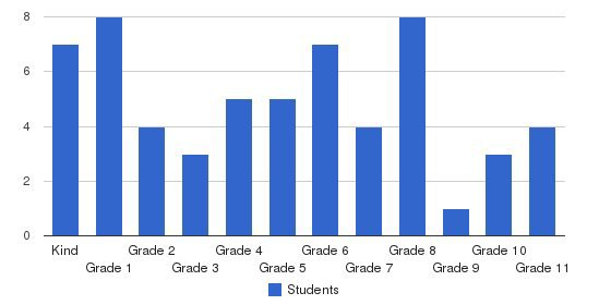 Lifesprings Academy Students by Grade