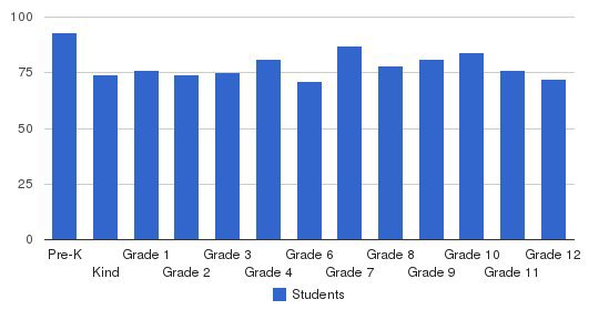 The Awty Intertational School Students by Grade