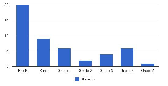 The Bellwether School Students by Grade