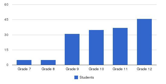 Massanutten Academy Students by Grade