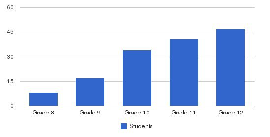 Oak Hill Academy Students by Grade