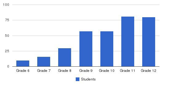 Randolph-Macon Academy Students by Grade
