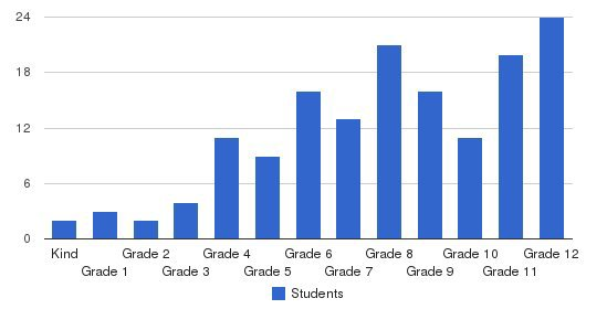 American Preparatory Academy Students by Grade