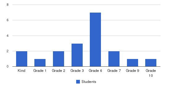 Grace Baptist Academy Students by Grade