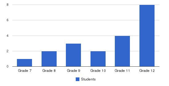 New Directions Adolescent Services Students by Grade