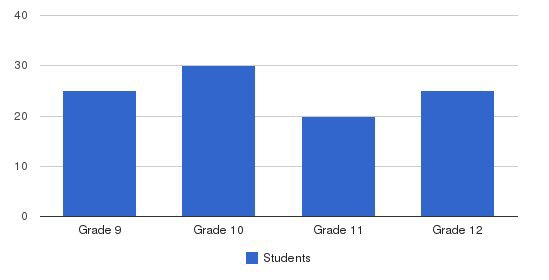 Quest Academy Students by Grade