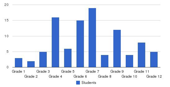 Childhelp School Students by Grade