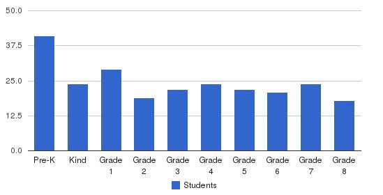 Our Lady Of Perpetual Help School Students by Grade