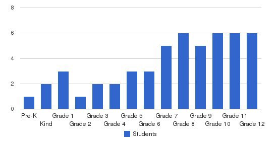 Acts Academy Students by Grade